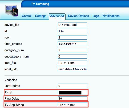 Samsung Smart TV - Paramètres