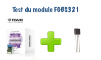 Test du capteur universel Fibaro (FGBS321)