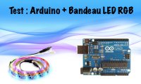 Arduino : Un Bandeau LED commandé par Ethernet ?