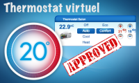 Le thermostat virtuel disponible su